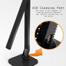 Black Dimmable LED Desk Lamp