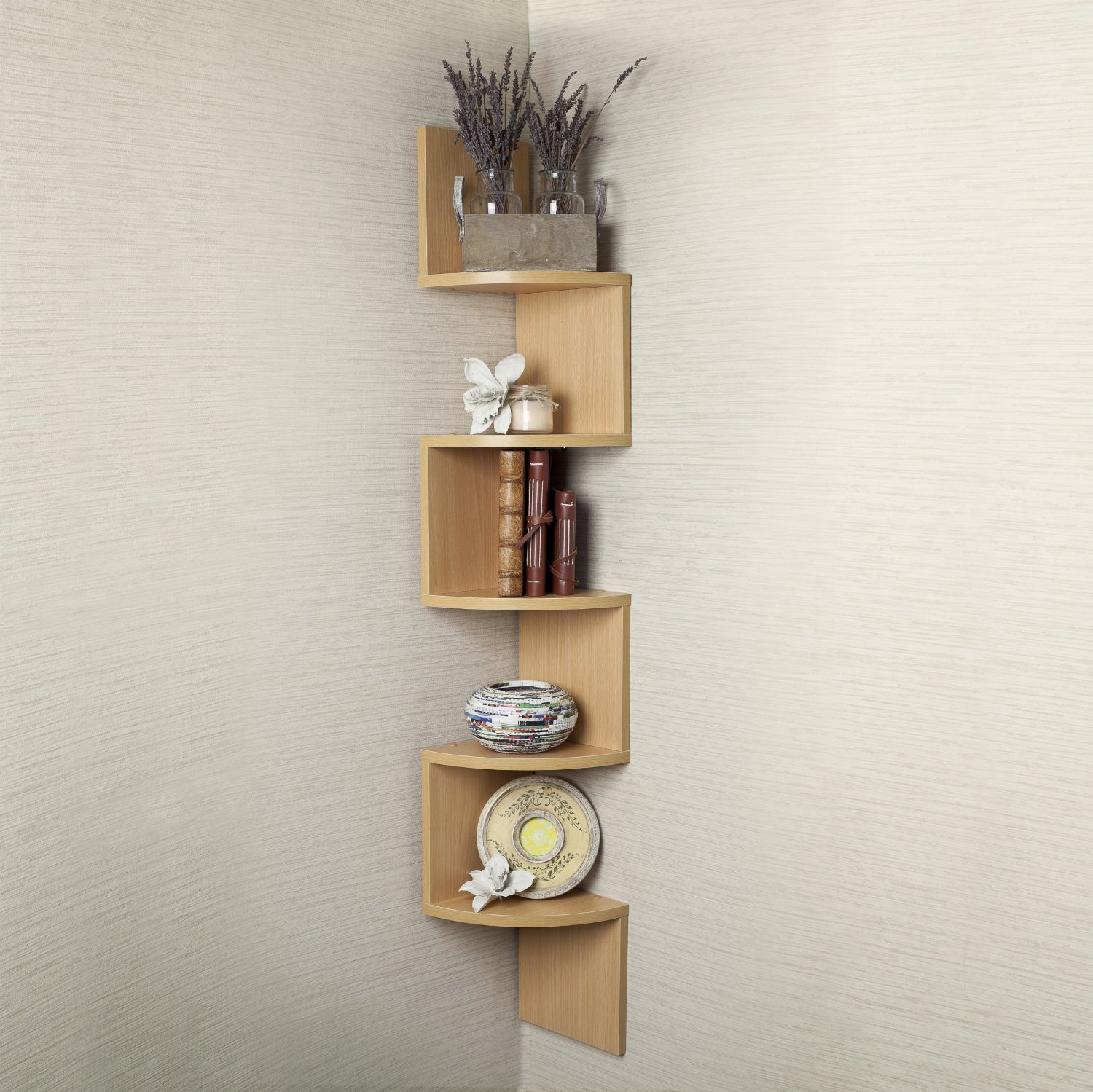 Corner Wall Mount Shelf – Home Decor
