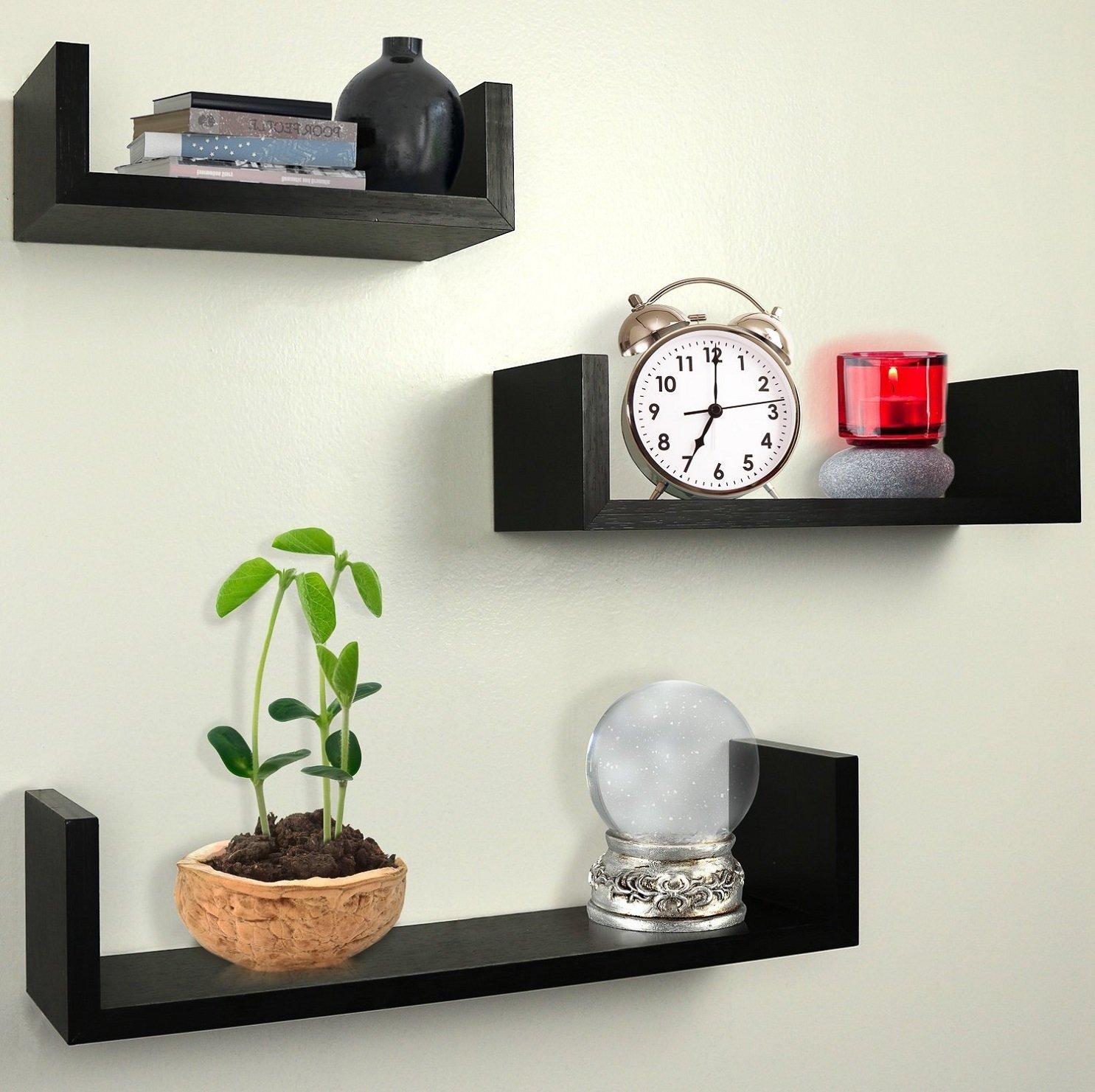 floating wall shelves - photo #34