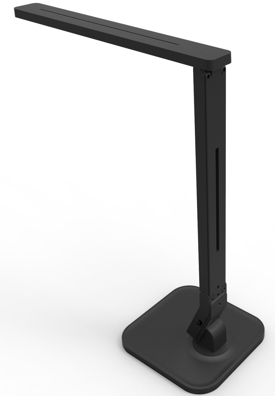 Black Dimmable Led Desk Lamp Home Decor