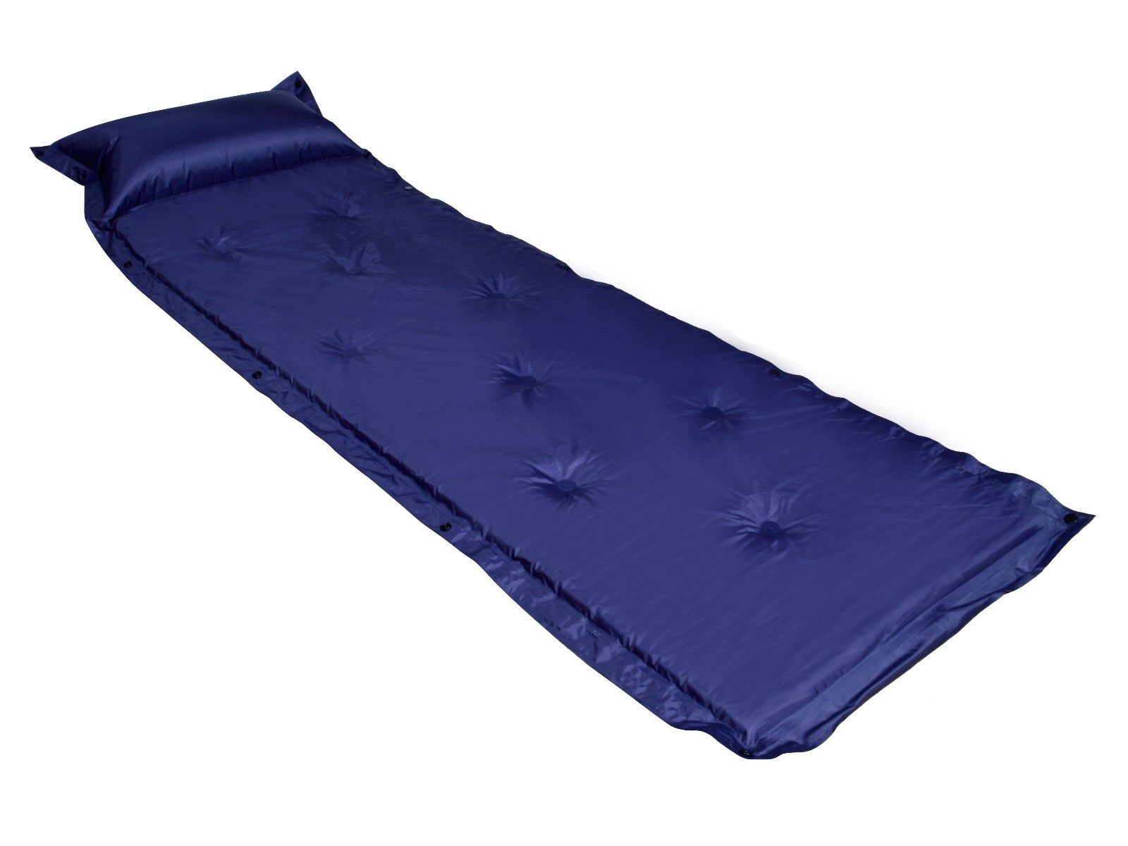 Outdoor Self Inflating Blue Pad Picnic Hiking Camping Bed