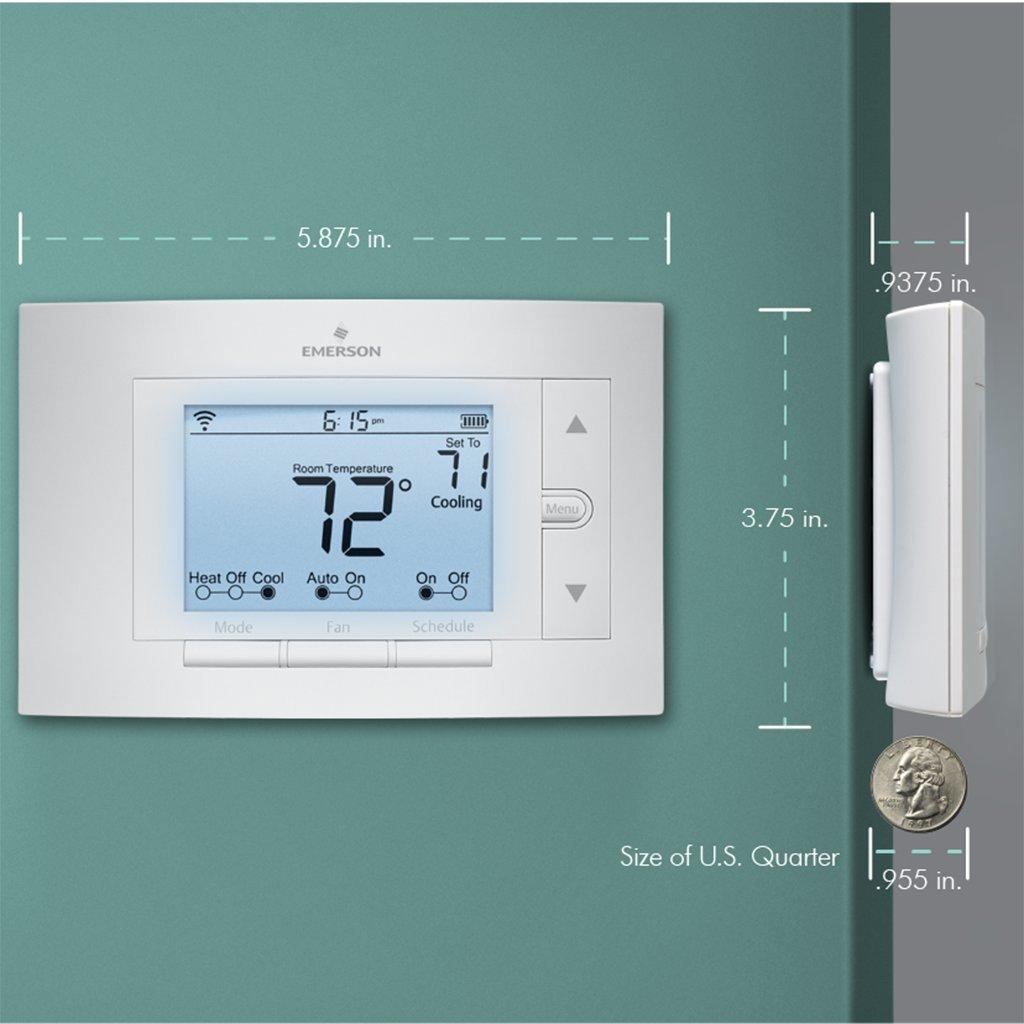 diy sensi wi fi programmable thermostat up500w for smart home home decor. Black Bedroom Furniture Sets. Home Design Ideas